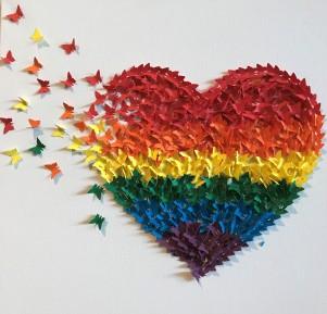 Heart Butterflies graphic