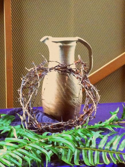 The crown of thorn and cup
